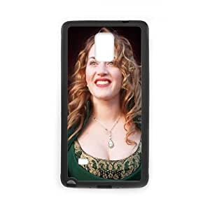 Kate Winslet Celebrity Samsung Galaxy Note 4 Cell Phone Case Black Exquisite designs Phone Case TF778J51