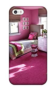 Tpu Case For Iphone 5/5s With Teen Girl8217s Room With Pink Walls 038 Twin Beds