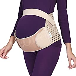 Maternity Belt - NEOtech Care ( TM ) Brand - Pregnancy Support - Waist / Back / Abdomen Band, Belly Brace - White Color - Size M