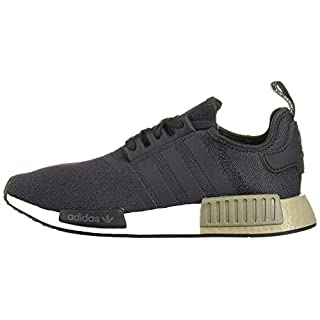 adidas Originals mens Nmd_r1 Running Shoe, Carbon/Carbon/Trace Cargo, 5.5 US