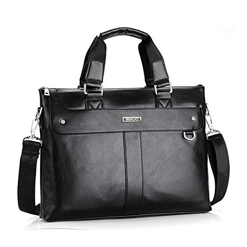- Laptop Bag, Travel Briefcase with Organizer, Expandable Large Hybrid Shoulder Bag, Water Resisatant Business Messenger Briefcases for Men and Women Fits 17 15.6 Inch Laptop, Computer, Tablet (Black)