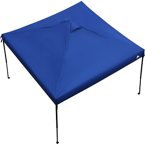 Ozark Trail 10 x 10 Gazebo Canopy Top – Blue Color Canopy Top Only . Includes 1 10 Feet X 10 Feet Canopy Top Only, and 1 Carrying Bag With Handle and Zipper. Canopy Frame Is Not Included.