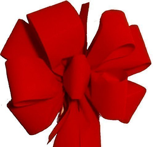 12 Christmas Bows ($7.50 EA) FREE SHIPPING Red Velvet Christmas Bows 10