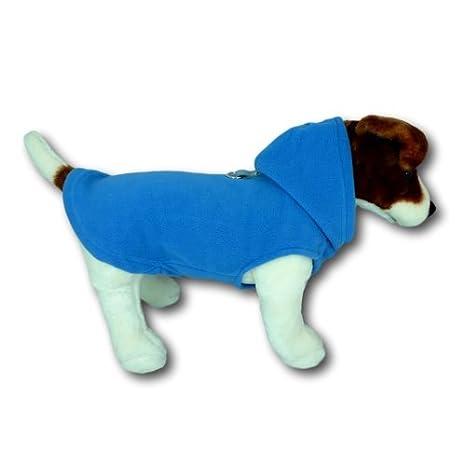 Encapuchado Chaleco Arnés para Perro, Abrigo Chompa para Perros Pequeños, Varios Colores y Tamaños Disponibles: Amazon.es: Productos para mascotas