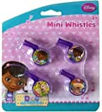 4 7 whistle - Doc Mcstuffins Mini Whistle 4Pk [7 Retail Unit(s) Pack] - 27807DOC