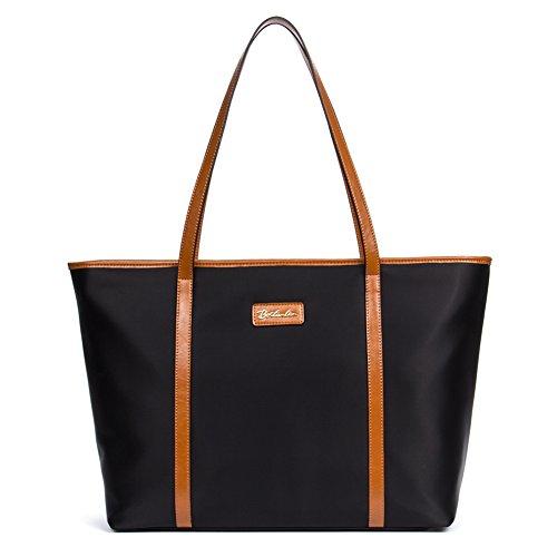 Black And Brown Tote Bag - 3