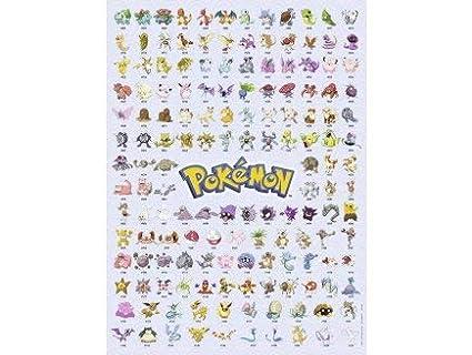 Otto Puzzle Pokemon Pikachu Mewtwo Dracaufeu 500 Pieces
