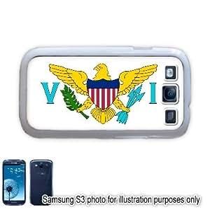 Usvi United States Virgin Islands Flag Samsung Galaxy S3 i9300 Case Cover Skin White