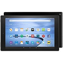 """Certified Refurbished Fire HD 10 Tablet, 10.1"""" HD Display, Wi-Fi, 16 GB - Includes Special Offers, Black (Previous Generation - 5th)"""