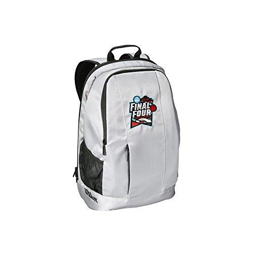 - Wilson Sporting Goods NCAA Men's Final Four Backpack, Gray, 23x15