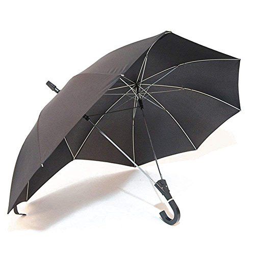FY Double Size Tall Umbrella,Double Umbrella,Couple Umbrella, Two Person Umbrella,Umbralls for Baby,Gift for Lovers (Balck)