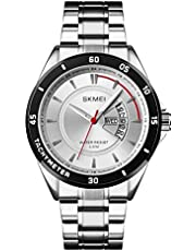 SKMEI Men's Analog Water Resistant Day and Date Watch Watch Watch Watch Watch Watch Watch