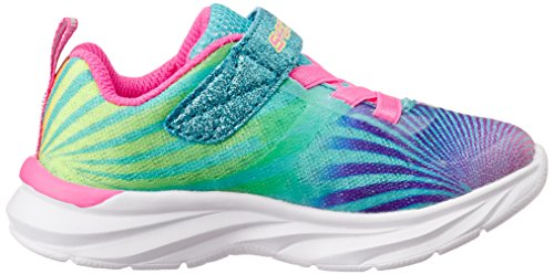 Skechers Kids Pepsters Colorbeam Sneaker (Little Kid/Big Kid), Multi, 3 M US Little Kid