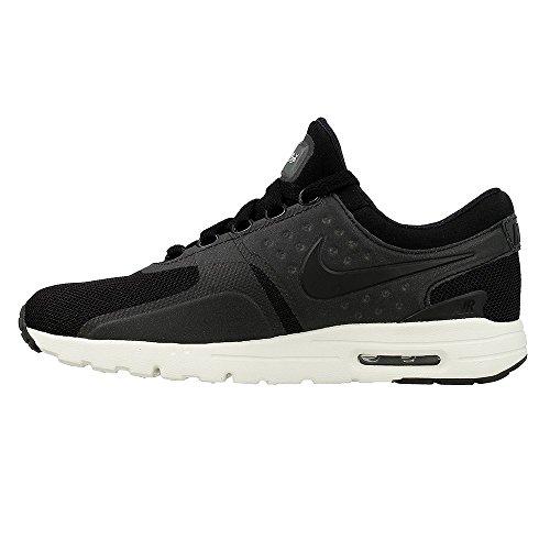 Nike Womens Air Max Zero Black/Black-Sail 857661-002 (9.5 M US)