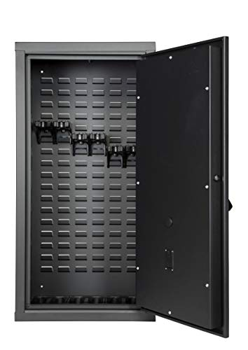 SecureIt Gun Storage Agile Ultralight Gun Safe: Model 40 - Holds 6 Rifles and uses CradleGrid Tech, Stack on Agile Model 52, Heavy Duty Guns Safe with Keypad Control Safely Stores Guns, Easy Assembly
