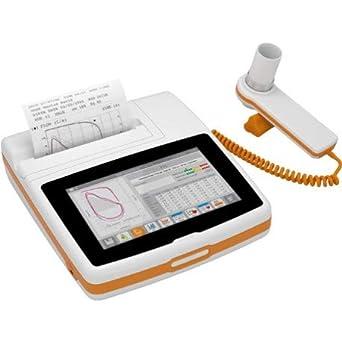 Spirolab Touchscreen Espirómetro Portátil Mir, Software winspiroPRO - O2-Med