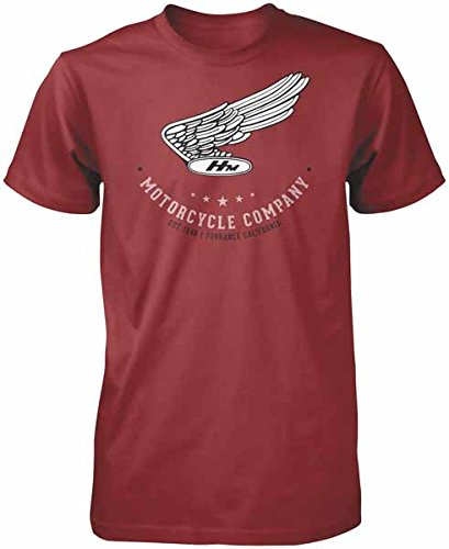 Honda Mens Vintage Motor CO Short-Sleeve Shirts