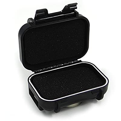 Waterproof GPS Tracker Magnetic Box Case - Secret Hidden Stash Box for Car - Neodymium Rare Earth Magnet Mount 100 lbs Pull - Weatherproof Protective Container for GL200 GL300 Spark Nano MicroTracker - Don't Lose Your Tracking Device to a Weak Magnet