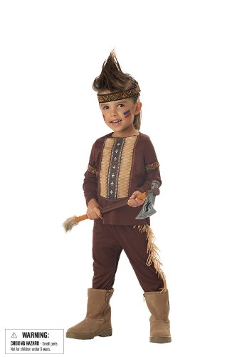Lil' Warrior Boy's Costume, Large, One Color