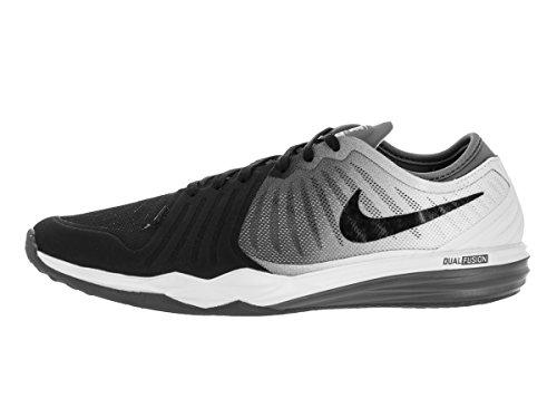 Nike Damen W Dual Fusion TR 4 Print Turnschuhe, 16 EU Schwarz (Schwarz / Weiß-Cool Grey)