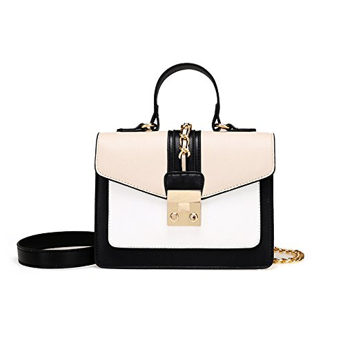 à Sac Crossbody Womens Main PU Hit Bandoulière Couleur Beige BAILIANG Fashion à Sac qCEtwC