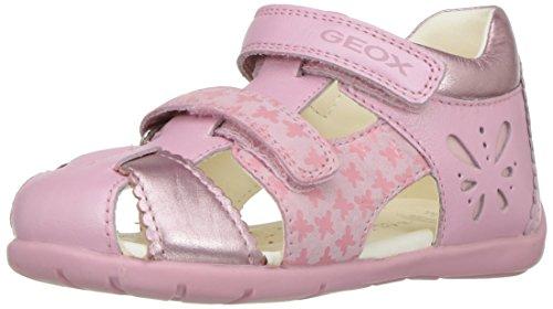 Geox B Kaytan C, Botines de Senderismo para Bebés Rosa (Lt Pinkc8010)