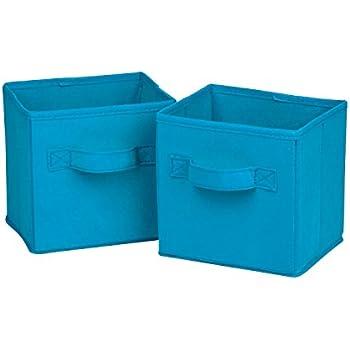 Honey Can Do SFT 02126 Mini Soft Fabric Storage Bin, 2
