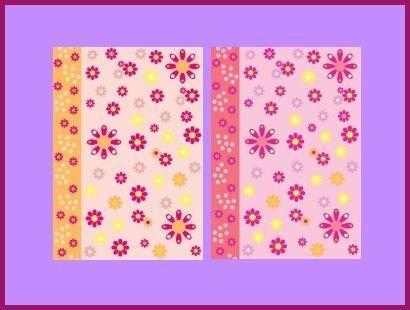 - Vellum Flower Power Pink