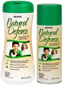 Sargeants/Sentry Natural Defense Flea And Tick Household Spray 12oz