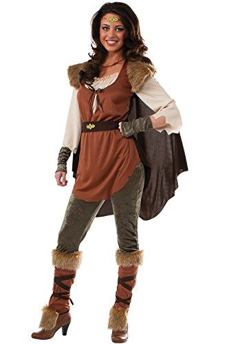 Warrior Princess Costume Accessories (Rubie's Costume Women's Forest Princess Adult Costume, Multi, Small)