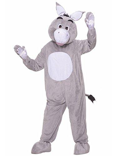 Forum Novelties Men's Plush Donkey Mascot Costume, Multi, Standard]()