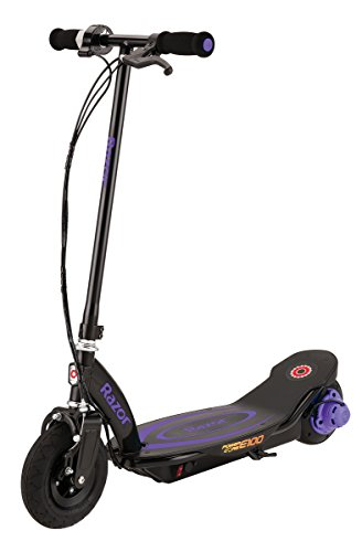 Purple Motor Scooter - 1