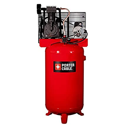 Amazon.com: Porter Cable PXCMV5048055 5 HP Two Stage Air Compressor, 80 gallon: Home Improvement
