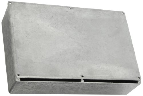 BUD Industries CN-5714 Die Cast Aluminum Enclosure, 10-51/64'' Length x 6-7/8'' Width x 2-5/8'' Height, Natural Finish by BUD Industries (Image #1)