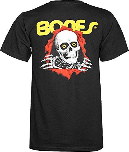 6e24440aca Amazon.com: Powell Ripper Youth Skateboard T-Shirt [Large] Black ...