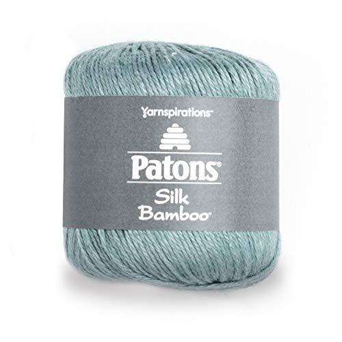 Silk Blend Yarn - Patons Silk Bamboo Yarn, 2.2 oz, Sea