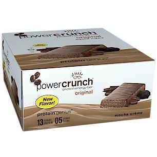 Bionutritional Power Crunch Bars Mocha Creme, 1.4 oz., 12 Bars
