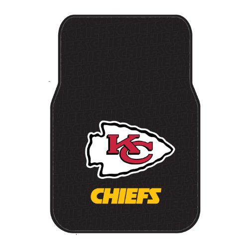 Chiefs OFFICIAL National Football League, 25.5 x 17.5 Car Floor Mat Set (Pair of 2) by Northwest Official