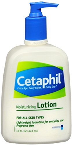 Cetaphil Moisturizing Lotion for All Skin Types, Body and Fa