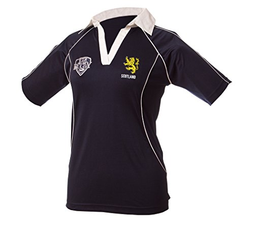Full Time Rugby Apparel Scotland Ladies Rugby Shirt 16-18 XX Large Green ()