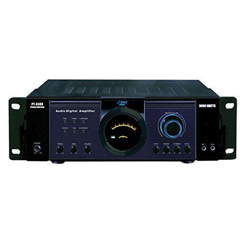 Pyle 3000 Watt Power Amplifier - 1 Year Direct Manufacturer
