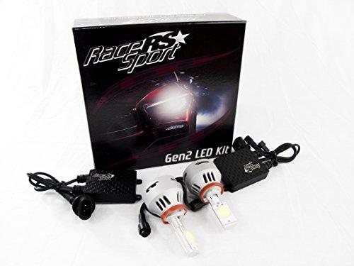 race sport h11 led g2 kit led headlight kit at caraudionow. Black Bedroom Furniture Sets. Home Design Ideas