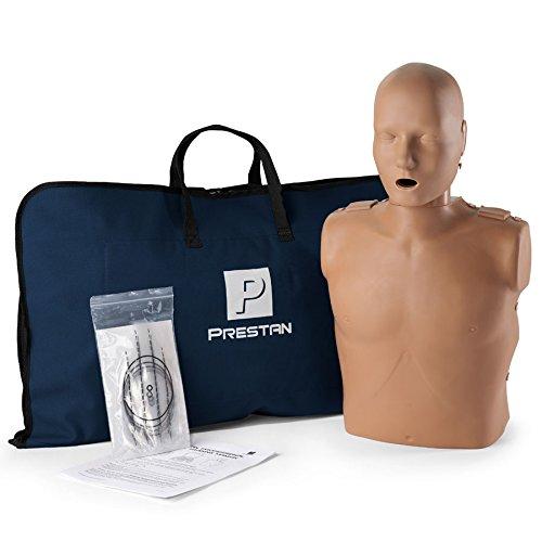 Cpr Anne Manikin (Prestan Professional Adult CPR - AED Training Manikin, Dark Skin Tone)