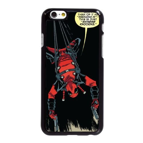 H2L73 Deadpool Q5T8ZZ coque iPhone 6 Plus de 5,5 pouces cas de couverture de téléphone portable coque noire RZ0IPL4HJ