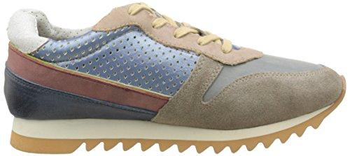 BUNKER Herren Sneaker Low-Top Grau (Grey)