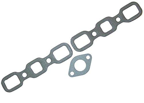 (9N9447 9N9448 Intake Exhaust & Gasket Set w/Carb Gasket Made for Ford Tractor 2N 8N 9N)
