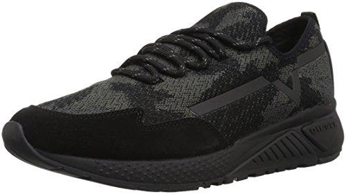 Diesel Men's SKB S-KBY Sneaker, Black, 13 M US