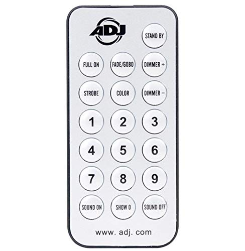 American DJ Wireless Remote Control for Inno Pocket Spot/Roll/Scan Lights UC-IR ()