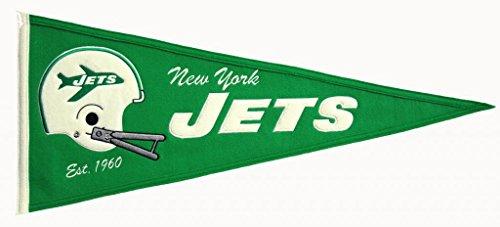 New York Jets Medium Throwback Pennant