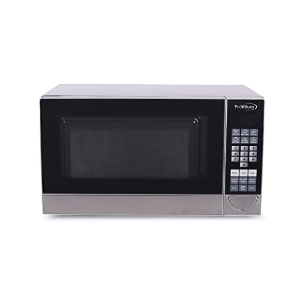 Premium PM70710 0.7 Cu. Ft. Counter Top Microwave Oven, Stainless Steel 2
